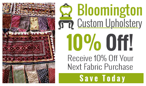 Receive 10% Off Your Next Fabric Purchase - Coupon
